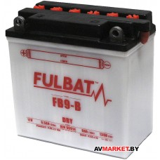 Аккумулятор FULBAT DRY FB9-B 135*75*139 9Ач -/+ 550596 Китай