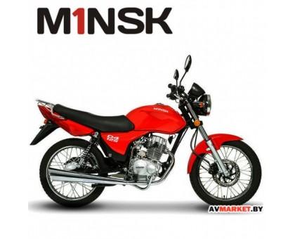 Мотоцикл D4 125 красный РБ 4810310003402
