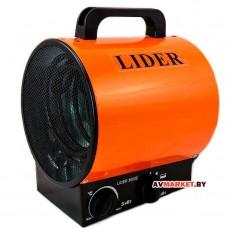 Нагреватель воздуха электр. LIDER 3000E (Китай)