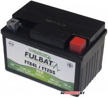 Аккумулятор FULBAT SLA SLA12-4/FTZ5S AGM 113*70*85 4Ач -/+ 550671