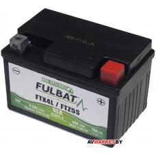 Аккумулятор FULBAT SLA SLA12-4/FTZ5S AGM 113*70*85 4Ач -/+ 550671 Китай