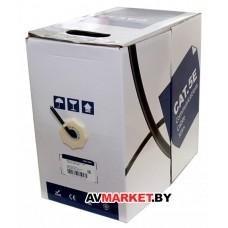 Кабель 5bites FS5505-305CPE FTP/ SOLID/5E/24AWG/COPPER/PE/BLACK/OUT DOOR/DRUM/305м Китай