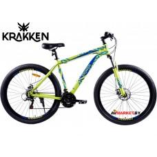 "Велосипед KRAKKEN FLINT 18- 29"" 21 желтый 4810310006281"