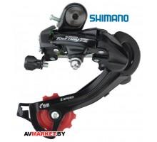 Переключатель задний Shimano Tourney, TZ500,GS 6ск.,крепление на петух, Китай 5294