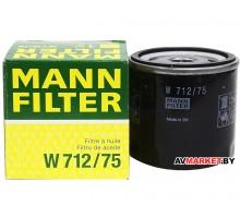 Фильтр масл OPL ASTRA C/SIGNUM/MERIVA/ASTRA 1.6/1.8/2.0 98-замена W 712/22 W 712/75