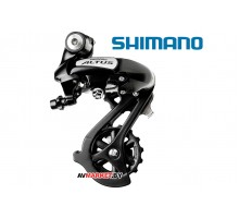 Переключатель  задний  SHIMANO ALTUS RD M310 DL черный Россия 4992