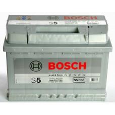 Аккум бат BOSCH S5 77Ah 780A евр  SILVER PLUS Чешская республика