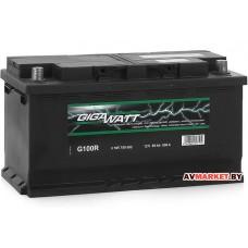 Аккумулятор GIGAWATT 100Ah евр 830A (353*175)
