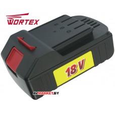Аккумулятор WORTEX BL 2018 G 18.0 B 2.0 А/ч Li-lon BL2018G00011 Китай