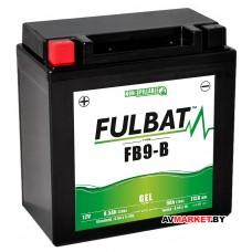 Аккумулятор FULBAT GEL FB9-B 135*75*139 9Ач -/+ 550925 Китай
