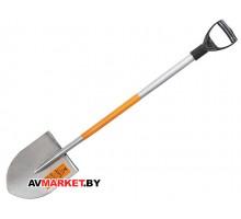 Лопата РОБУС К-12 штыковая остроконечная цельнометаллическая