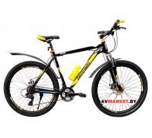 Велосипед GREENWAY 7101 M 27,5 горный для взрослых Китай черно желтый