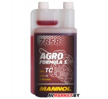 Масло моторное синтетическое 2-х такт. 1л DS MANNOL 7858 Agro Formula S API TC