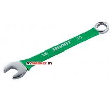 Ключ комбинированный 15 мм в прорезиненной оплетке Волат 16060-15