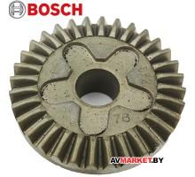 Плоское колесо (конусная шестерня редуктора) УШМ BOSCH GWS580,6-115E,660,780C,850C/CE 2609110150