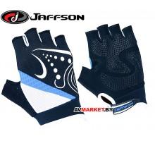 Перчатки JAFFSON SCG 47-0118 M (черный белый синий)