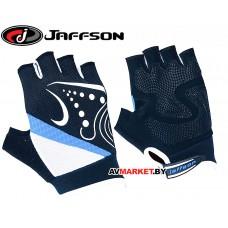 Перчатки JAFFSON SCG 47-0118 S (черный белый синий) 2503