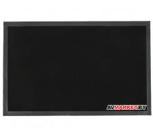 Коврик придверный влаговпитывающий ребристый Tuff 50*80 см черный TM Blabar 92133