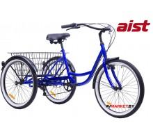 """Велосипед 3-х колесный 24""""-7скоростей для взрослых Aist CARGO 2.0  4810310003440"""