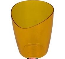 Кашпо для орхидей Mia 1.2л оранжевый BEROSSI АС26818000 Беларусь
