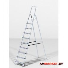 Лестница-стремянка алюм. 213см 10 ступ. 6,5 кг PRO STARTUL ST9940-10