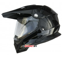 Шлем для водителей и пассажиров мотоциклов и мопедов BLD-819-7 кроссового типа