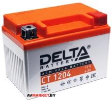 Аккумуляторная батарея СТ1204 Delta 12в 4А-ч