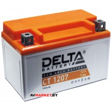 Аккумуляторная батарея СТ1207 Delta 12в 7А-ч