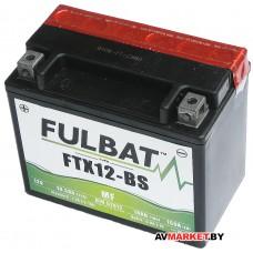 Аккумулятор FULBAT MF FTX12-BS AGM 150*87*130 10Ач -/+ 550603 Китай