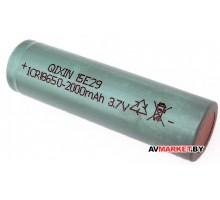 Элемент аккумуляторный Li-ion 18650 2.0Ah 3.7V ф.18*65 18650-2
