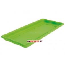 Поддон к ящику балконному 50см салатовый CYCLOPS 003201174 Греция