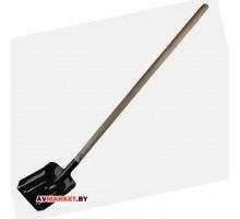 Лопата совковая с черенком 1400 мм с ребрами жесткости startul garden ST6097-02 Россия