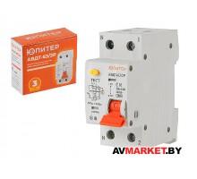 Автоматич.выключатель диффер АBДТ-63/2P С20 30мА.6кА тип А ЮПИТЕР JP7522-20 Китай