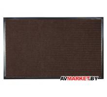 Коврик придверный влаговпитывающий ребристый Tuff 50*80 см коричневый TM Blabar 92134