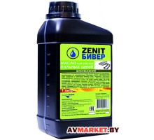 Масло для смазки пильных цепей бензопил канистра 1л всесезонное Зенит-Бивер-1 РБ