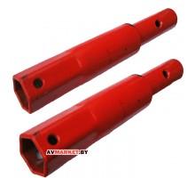 Удлинители (увелич. колеи до 650мм 6-гр внут. 32 мм/ф наруж34мм пара 58.05.00.00.00