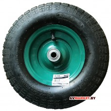 Колесо надувн. 3,50-6 подшипн.ф35*16мм для оси 16*90мм WB-P005 WB-P205 Китай