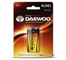 Батарейка 6LR61 9V alkaline BL 1 шт. DAEWOO ENERGY 4690601030320