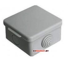 Коробка распаячная ОП 65*65*50мм 4 мембр. вх. IP54 ЮПИТЕР JP7113-02