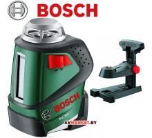 Нивелир лазерный линейный  BOSCH PLL 360 с держателем в кор. 0603663020