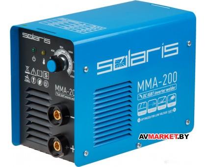 Инвертор сварочный SOLARIS MMA-200 Китай