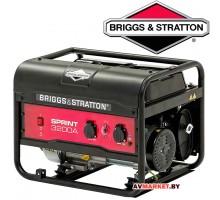 Бензиновый генератор Briggs& Stratton Sprint 3200А 2500Вт 230V 11.4л Китай