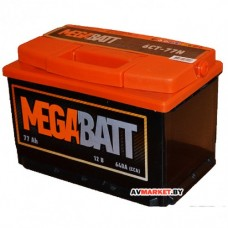 Аккумулятор Mega Batt  6СТ-77АзЕ евро 550А