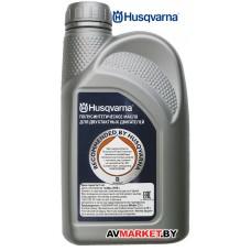 Масло Husqvarna 2T 0,9л HP Швеция (разливное) P5878085-10-09
