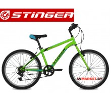 Велосипед Stinger 24 Defender 14 зеленый TY21/TS38.24SHV DEFEND 14G№8 Россия