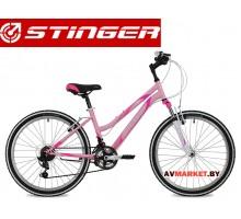 Велосипед Stinger 24 Latina 12,5 розовый TY21/TZ30/TS38..24SHV Latina 12PK8  Россия