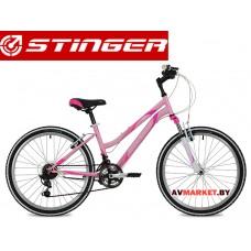 Велосипед Stinger 24 Latina 12,5 розовый TY21/TZ30/TS38.24SHV Latina 12PK8  Россия