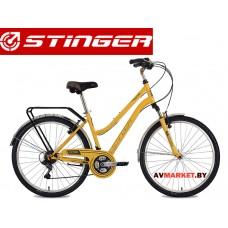 Велосипед Stinger 26 Victoria 17 желтыйTY21/TZ30/TS38.26SHV VICTOR 17BG8 Россия