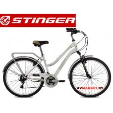 Велосипед Stinger 26 Victoria 17 белый TY21/TZ30/TS38.26SHV VICTOR 17WH8 Россия