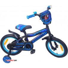 Велосипед детс двухк FAVORIT BIKER BIK-14BL Китай